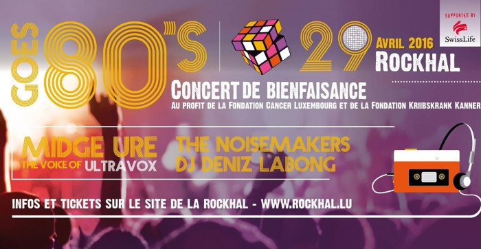 Rock against Cancer: save the date!
