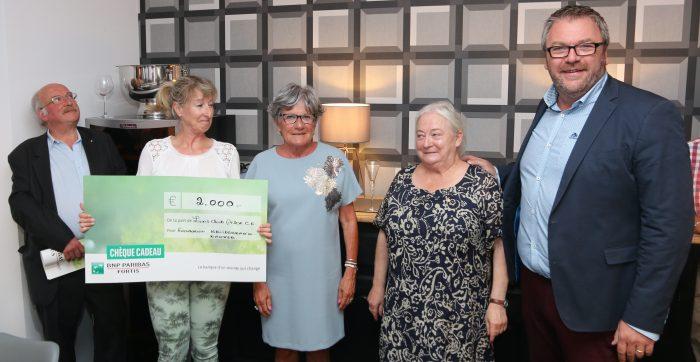 Le Lion's Club Arlon Comtesse Ermesinde soutient la Fondatioun Kriibskrank Kanner