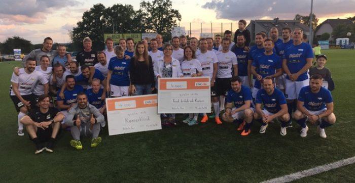 OBIS VIP Charity-Match zugonschten vun der Fondatioun Kriibskrank Kanner