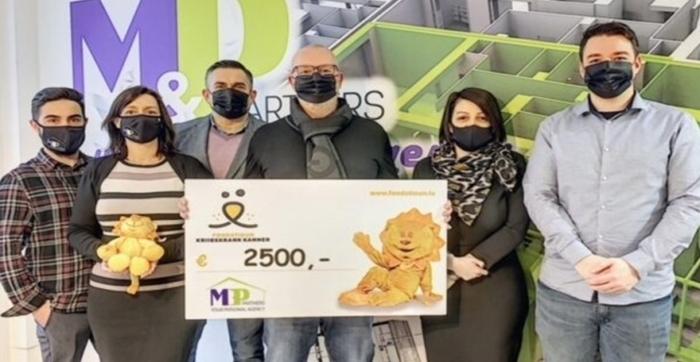MP Partners spenden 2.500 € un d'Fondatioun Kriibskrank Kanner