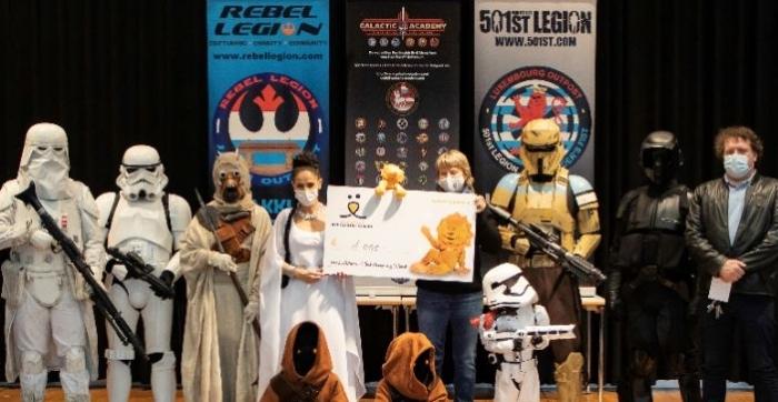Les fan-clubs Star Wars soutiennent la Fondatioun Kriibskrank Kanner